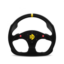 Load image into Gallery viewer, MOMO Mod. 30 B - Black Suede W/Buttons 320mm Track Steering Wheel FAF Automotive
