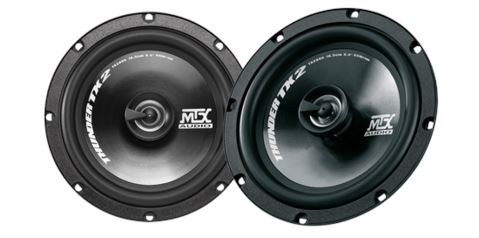 "MTX Audio TX2 Series 6.5"" Coaxial Speakers - TX265C FAF Automotive"