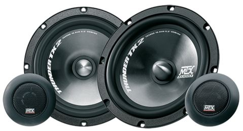 "MTX Audio TX2 Series 6.5"" Component Speakers - TX265S FAF Automotive"