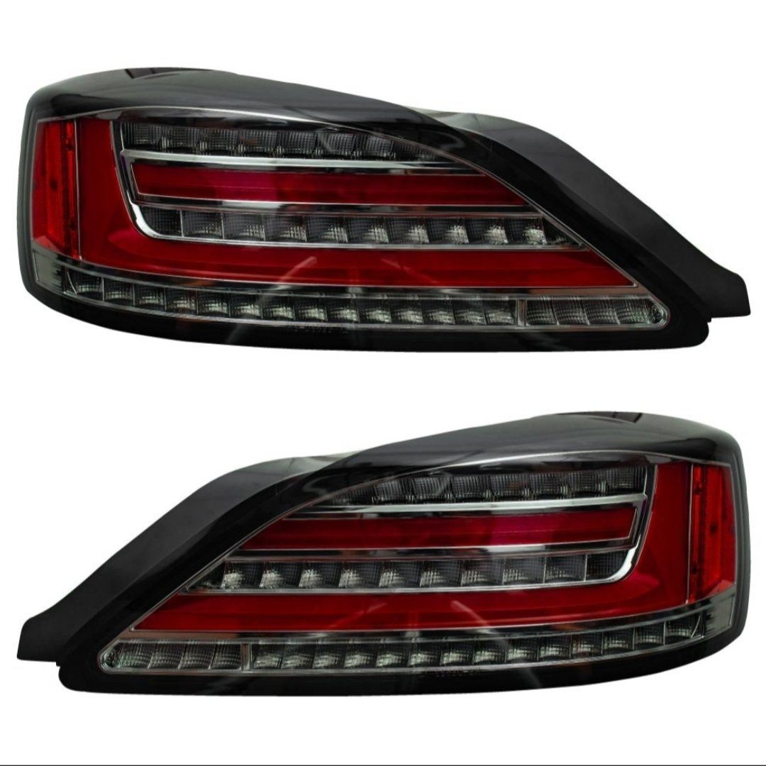 Nissan S15 Silvia (99-02) Sequential LED Smoked Tail Lights (Pair) FAF Automotive