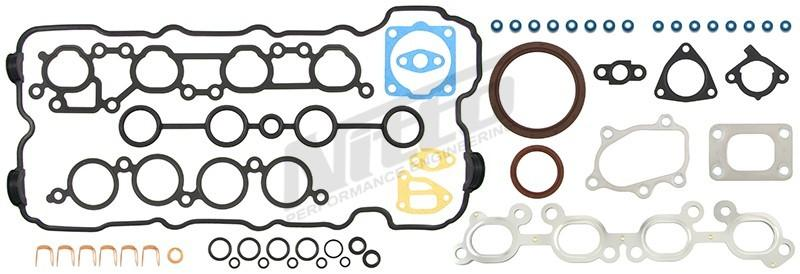 NISSAN SR20 NITTO FULL GASKET KIT WITH HEAD GASKET - SUIT S14 / S15 FAF Automotive