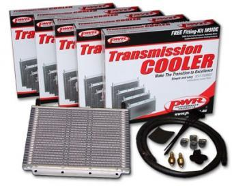 PWR Oil Cooler Kit Ford Falcon BF/FG/ Territory 280x255x19 3/8 Barbed Universal Fit PWO52048 FAF Automotive