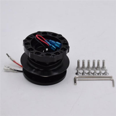 Quick Release Hub Version.2! FAF Automotive Black
