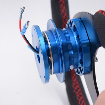 Quick Release Hub Version.2! FAF Automotive Blue