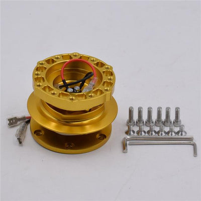 Quick Release Hub Version.2! FAF Automotive Gold