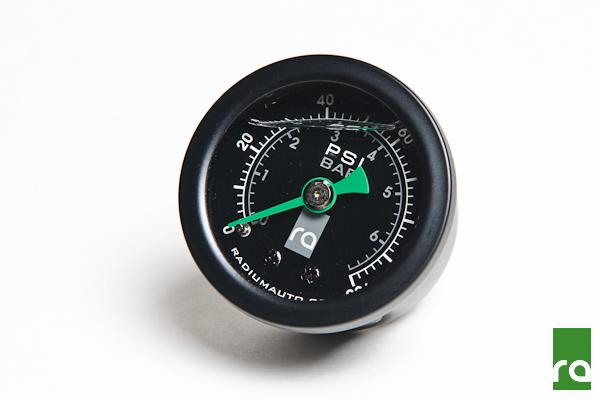 Radium Fuel Pressure Gauge 0-100psi FAF Automotive