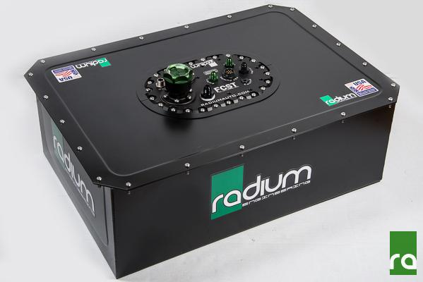 "Radium Fuel ""RACE SAFE"" Cell Set up 15 Gallons with Surge Tank Walbro 460s (Pump Not Incl)"
