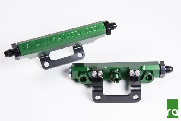 Radium Green Fuel Rail kit suit Subaru BRZ/Toyota 86