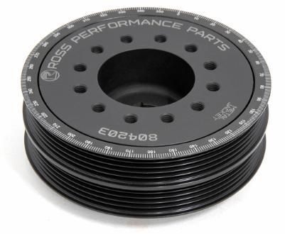 Ross Performance Toyota 4A-GE 20V FWD Metal Jacket Harmonic Damper