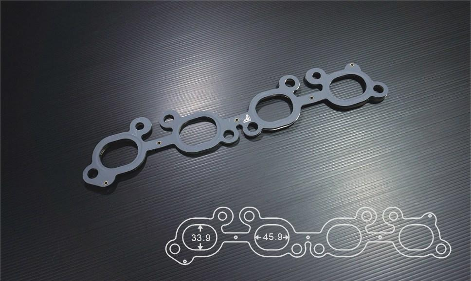 SIRUDA EXHAUST MANIFOLD GASKET FOR NISSAN SR20DET 1.4mm FAF Automotive