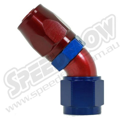 SPEEDFLOW 100 SERIES 45 DEGREE HOSE ENDS FAF Automotive
