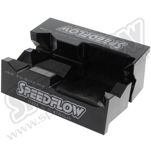SPEEDFLOW BILLET ALUMINIUM VICE JAWS -3 TO -10 FAF Automotive