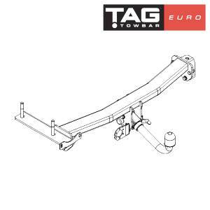 TAG Euro Towbars European Style Tongue to suit Land Rover Freelander 2 (10/2006 - 10/2014) FAF Automotive