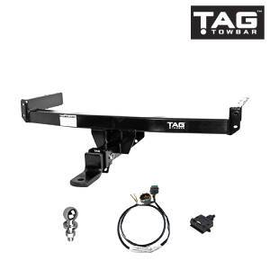 TAG Heavy Duty Towbar to suit Holden Colorado (01/2008 - 01/2012), Isuzu D-MAX (10/2008 - 05/2012) - Direct Fit ECU FAF Automotive