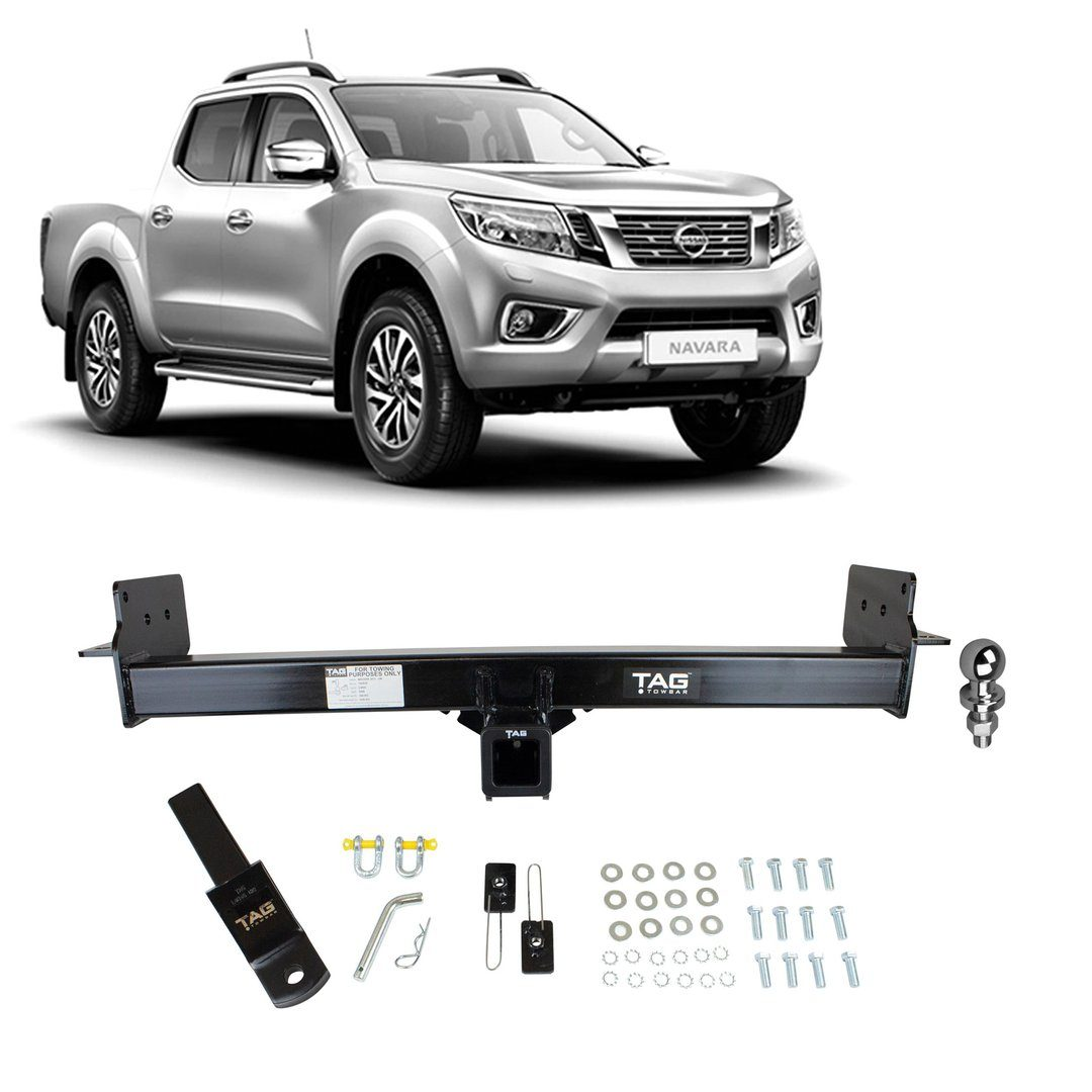 TAG Heavy Duty Towbar to suit Nissan Navara (07/2015 - on) - No Wiring Harness FAF Automotive