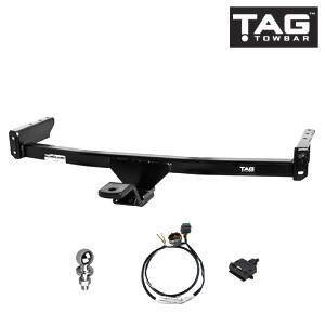 TAG Light Duty Towbar to suit Mazda 323 Astina, 323 Protegé, 323 (01/2001 - 05/2004), Ford Laser (03/1999 - 09/2002) FAF Automotive
