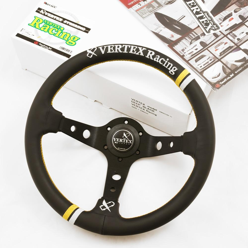 T&E Vertex JDM Steering Wheel - Racing FAF Automotive