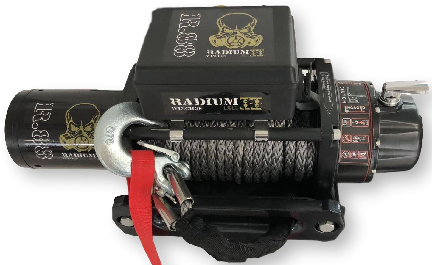 The Radium R88 Winch - 12000Lb Electric Winch Carbon Winch