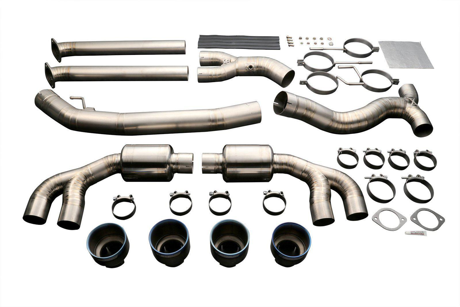 TOMEI EXPREME Ti TITANIUM EXHAUST SYSTEM for R35 GT-R
