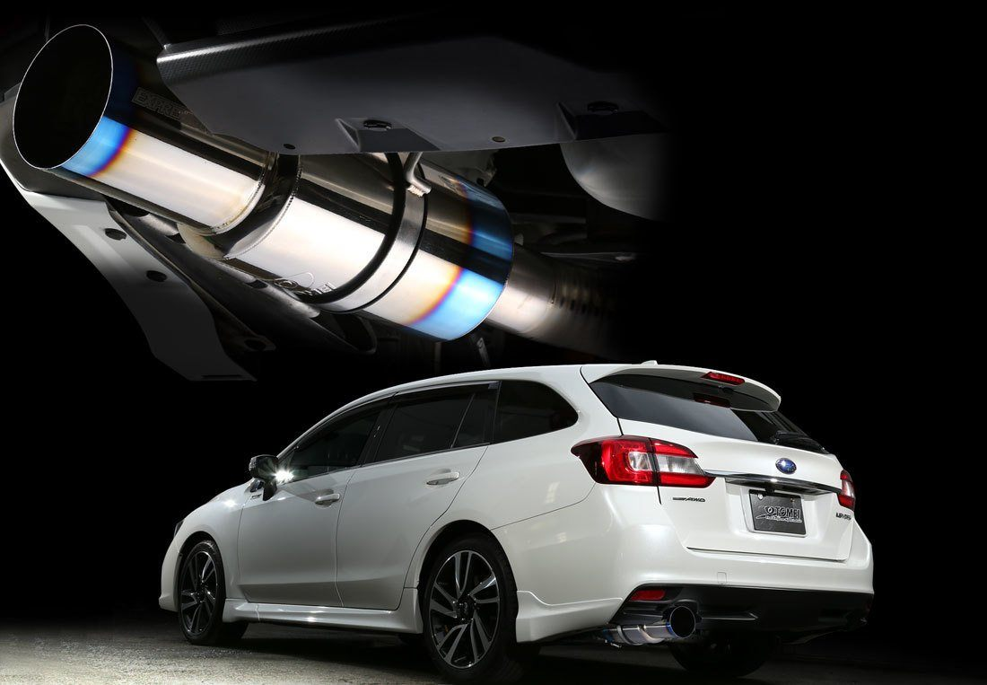 TOMEI EXPREMETI CAT BACK EXHAUST - SUBARU LEVORG FAF Automotive