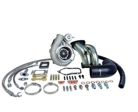 TURBO GT3076R UPGRADE KIT Suits Nissan RB20, RB25 (Low Mount)