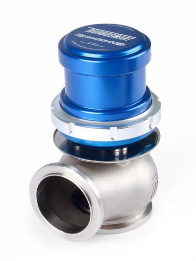 TURBOSMART WG45 HP HYPER GATE 45MM 35PSI EXTERNAL WASTEGATE FAF Automotive Blue