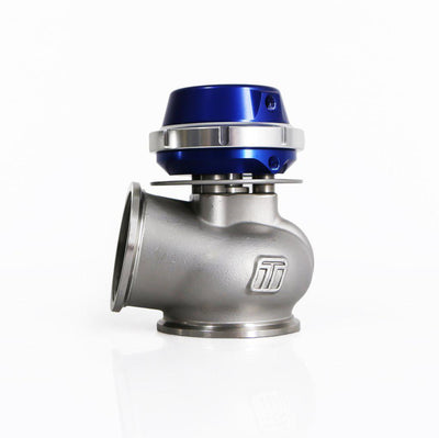 TURBOSMART WG50 HP PRO GATE LITE 50MM 35PSI EXTERNAL WASTEGATE FAF Automotive Blue