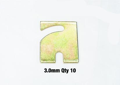 Whiteline Alignment Shim Pack 3.0mm - Ford Falcon AU, BA, BF, FG, FGX FAF Automotive