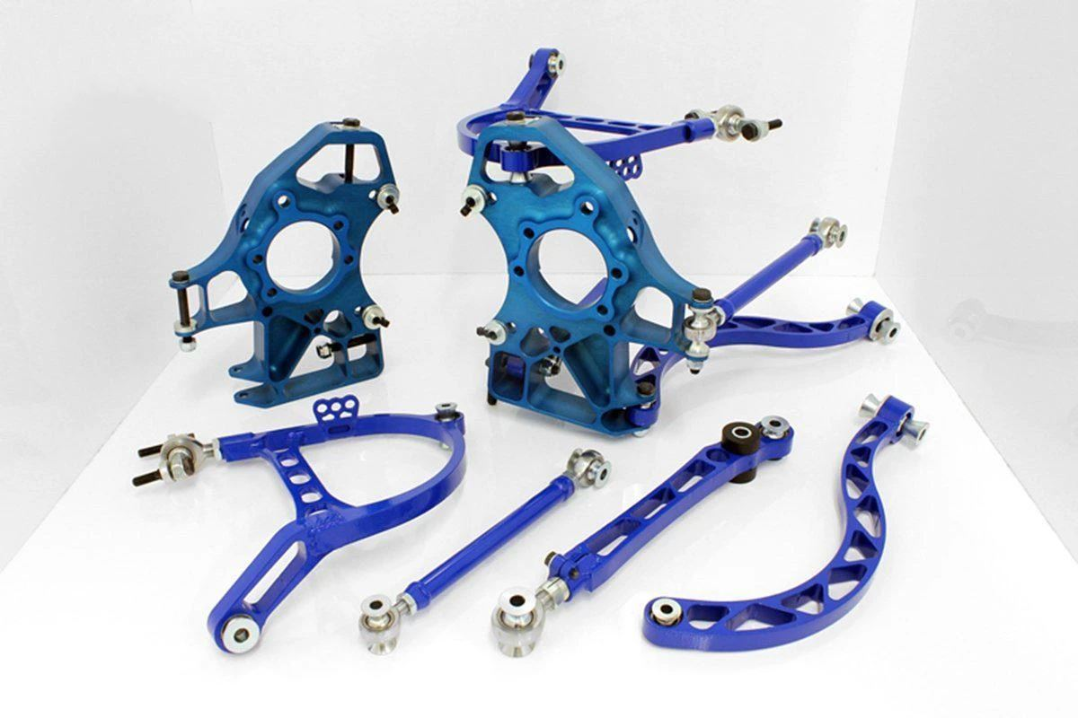 WISEFAB Mitsubishi Lancer EVO 7, 8, 9 Wisefab Rear Track Kit FAF Automotive