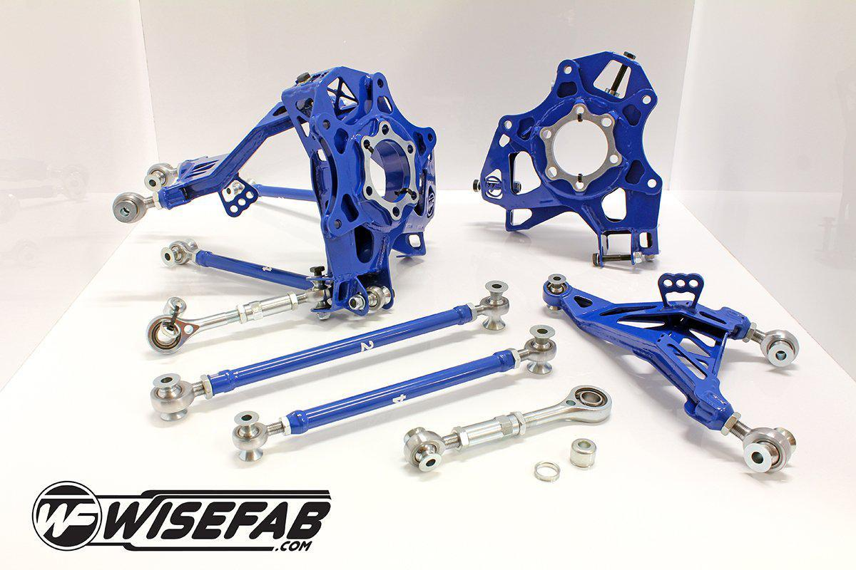WISEFAB Nissan 370Z Rear Kit FAF Automotive