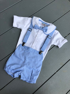 Baby Blue Peter Pan 4 piece set