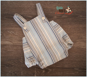 Summer Stripes Vintage Romper