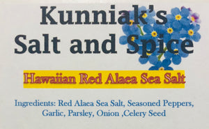 Red Alaea Sea Salt and Spice