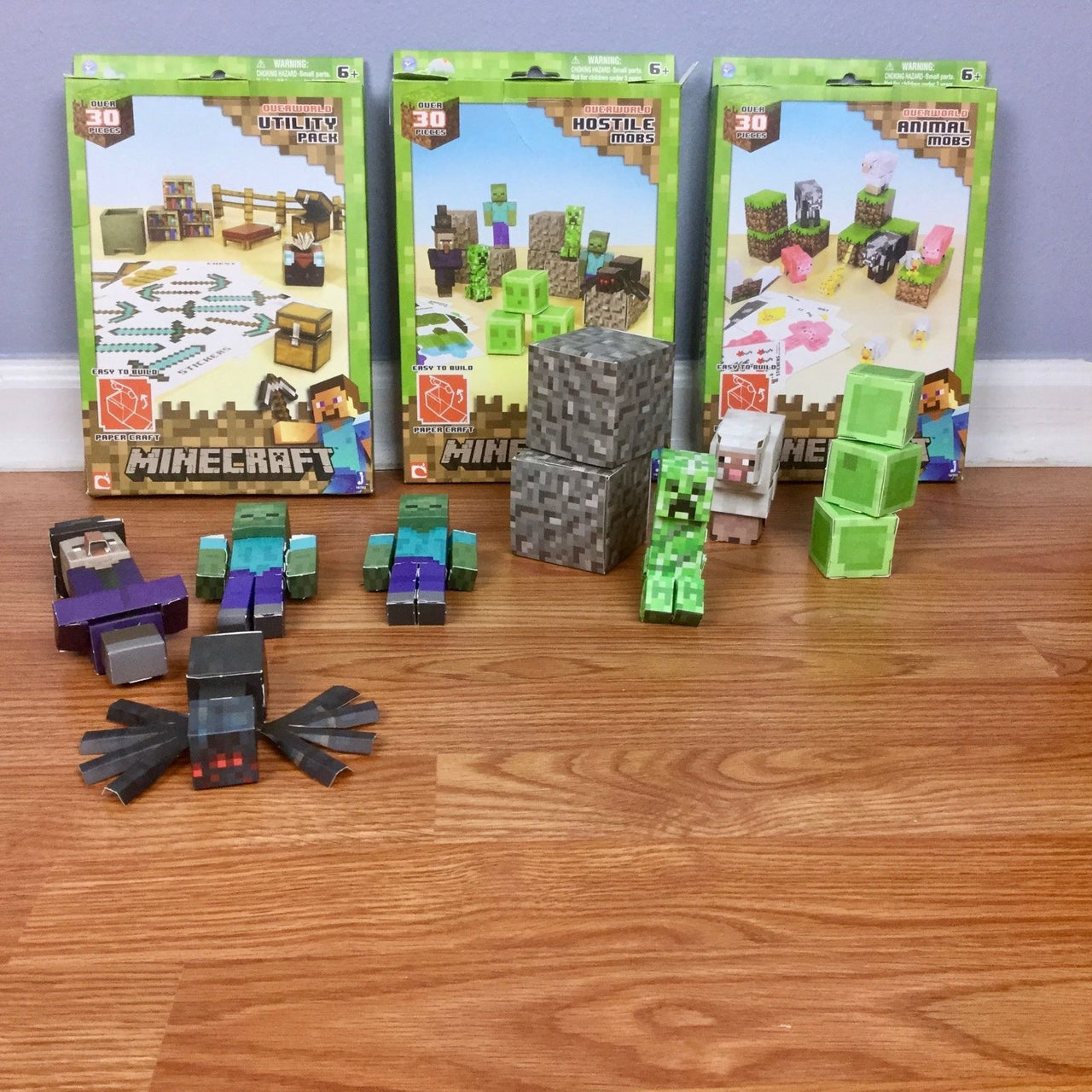 Minecraft paper crafts collection 2nd avenue toy minecraft paper crafts collection jeuxipadfo Images