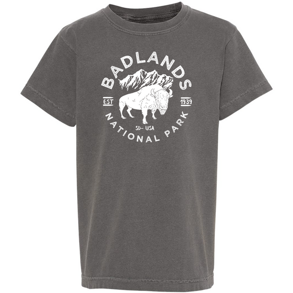 Badlands National Park Youth Comfort Colors T shirt