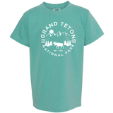 Grand Teton National Park Youth Comfort Colors T shirt