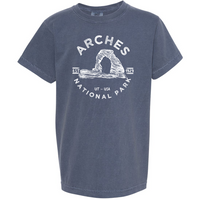 Arches National Park Youth Comfort Colors T shirt