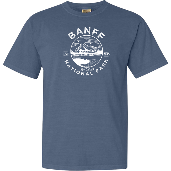 Banff National Park Comfort Colors T Shirt