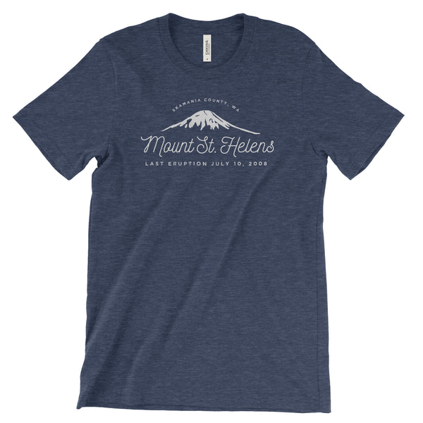 Mount St. Helens Adventure Unisex Bella Canvas Tshirt - The National Park Store
