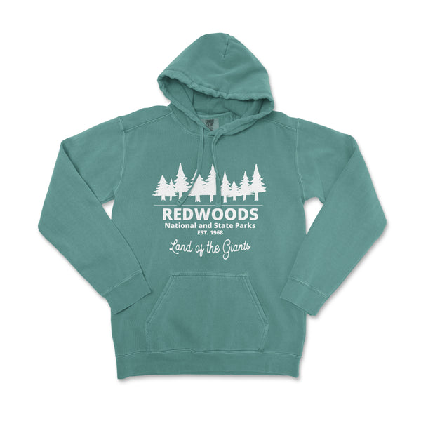 Redwood National Park Comfort Colors Hoodie