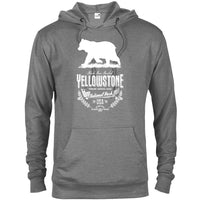 The Yellowstone National Park Bear Unisex Adventure Hoodie - The National Park Store