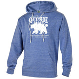 Get Outside National Park Adventure Unisex Snow Heather French Terry Hoodie - The National Park Store