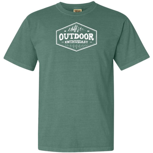 National Park Outdoor Enthusiast Adventure Comfort Colors TShirt - The National Park Store