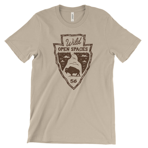 Wild Open Spaces National Park Unisex Bella Canvas Tshirt - The National Park Store