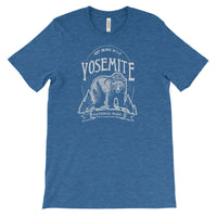 Yosemite Keep Bears Wild  National Park Adventure Unisex Bella Canvas Tshirt - The National Park Store