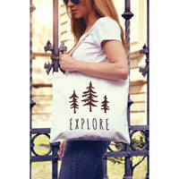 Explore National Parks Canvas Tote Bag