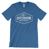 Outdoor Enthusiast National Park Adventure Unisex Bella Canvas Tshirt - The National Park Store