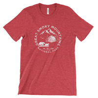 Great Smoky Mountains National Park Adventure Unisex Bella Canvas Tshirt - The National Park Store