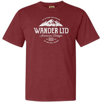 Wander National Park Adventure Comfort Colors TShirt - The National Park Store