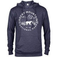 Rocky Mountain National Park Adventure Unisex French Terry Hoodie - The National Park Store